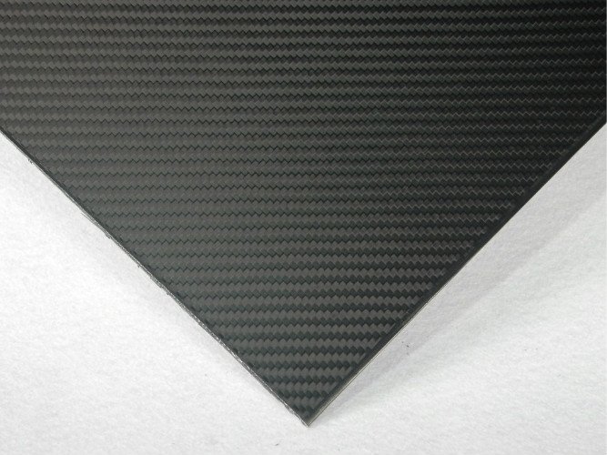 High strength weight ratio Twill Matte Carbon Fiber Plate Board 3.0mm with 3K material