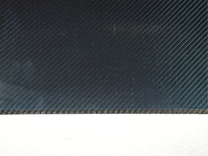 Abrasion-Resistant Twill Glossy Carbon Fiber Plate thickness 0.5mm with 3K material