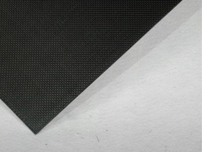 Thickness 2.5mm 3k Carbon Fiber Plate glossy Finish