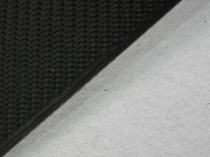 3K Twill Matte 4mm Carbon Fiber Sheet use for X-ray CT filter wire grid