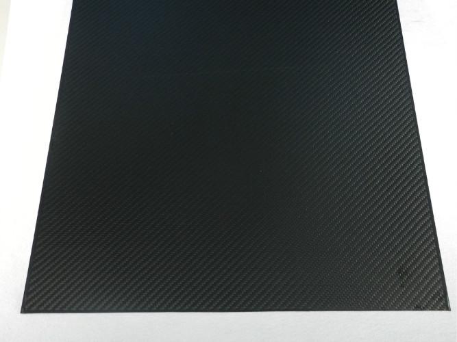 High Tensile Strength 1mm Carbon Fiber Sheet 3k Corrosion