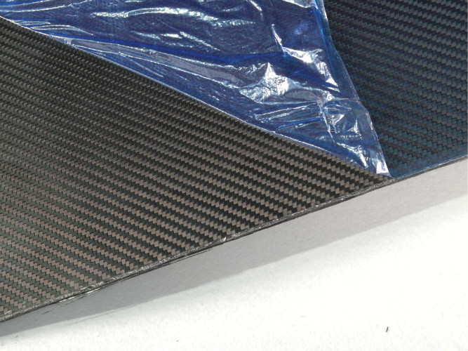 Full Carbon Fiber Sheeting , 340MM × 410MM Thickness 1.5mm Carbon Fiber Sheet