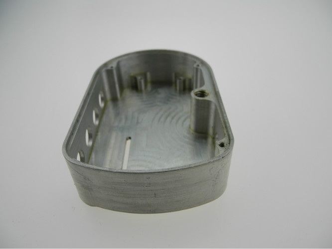 Clear Anodized Aluminium Metal Machining Parts NC Computer Numerical Control