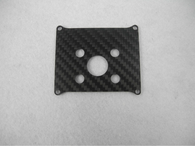 Carbon Fiber CNC cutting , Matte / Glossy Surface Carbon fibre Chassis with routing