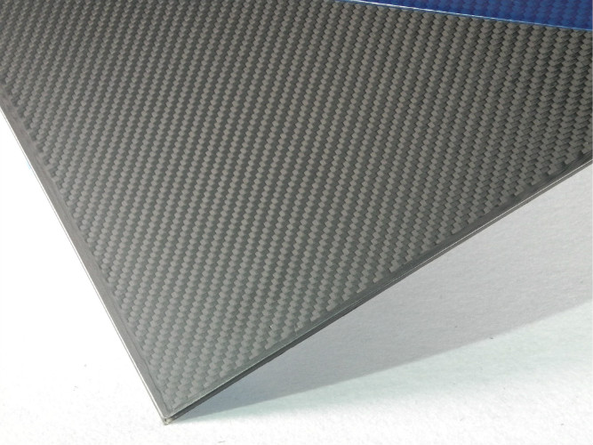 Twill Matte Carbon Fiber 2mm Carbon Fiber Sheet / Plate for Multiple spindle vehicle framework