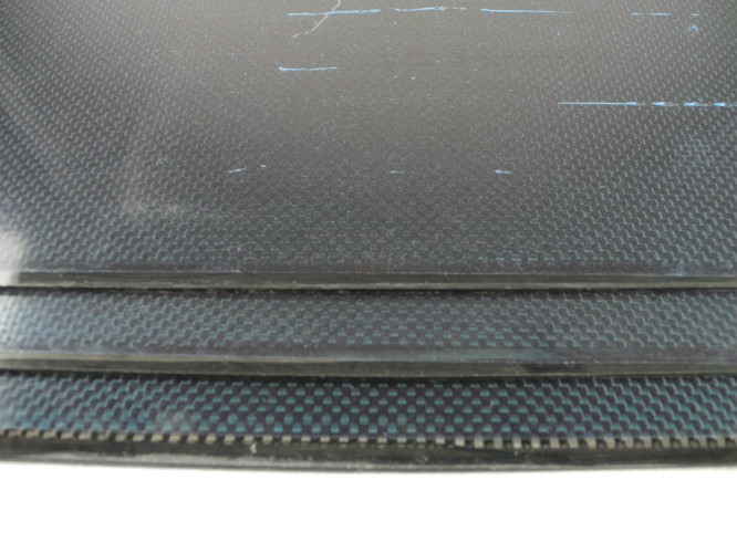 Compressive strength Plain Glossy Carbon fiber Plate 3.0mm with 3K Carbon