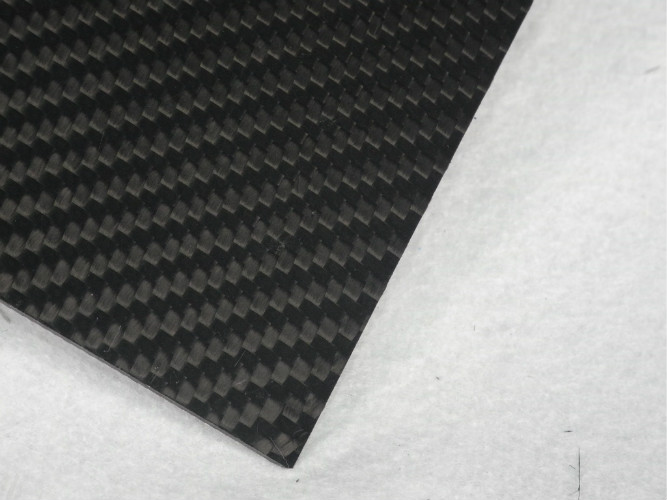 Vehicles Hot Rolled 2.5mm Sheets Of Carbon Fiber Corrosion Resistance