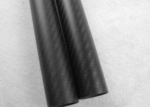 100% Full carbon fiber tube 25mmx23mmx1000mm , mould pressing carbon fiber
