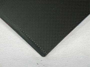 China Black High Performance 2.5mm Carbon Fiber Sheeting Matte Surface supplier