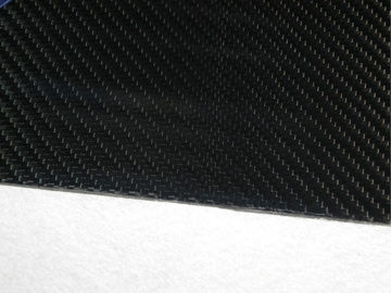 China Full Carbon Fiber Sheeting , 340MM × 410MM Thickness 1.5mm Carbon Fiber Sheet supplier