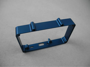 China Cobalt blue aluminum Enclosure CNC Advanced equipment CNC machined parts supplier