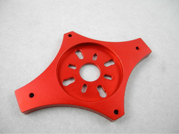 China High Precision Multicopter Aluminum Motor Mounts Metal Machining Parts supplier