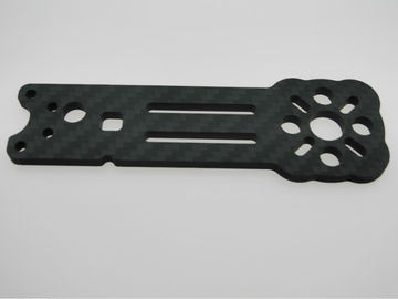 Cutting - Machining - 3K Twill Matte Carbon Fiber CNC Service OEM