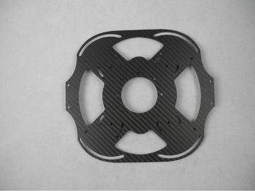 China OEM Carbon Fiber Drawing Editing Service Motor Mount CNC for Quadcopters supplier