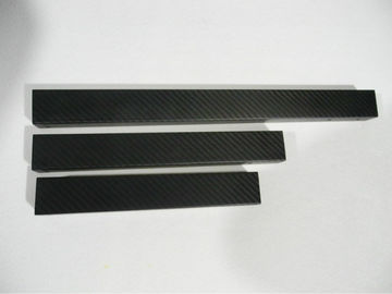 Professional 3k high toughness pultrusion Rectangular Carbon Fiber Tube moulded