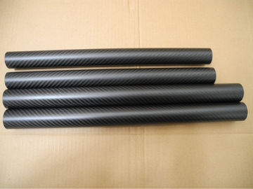 China High strength carbon fiber pipe support bar mechanical parts not rust corrosion supplier