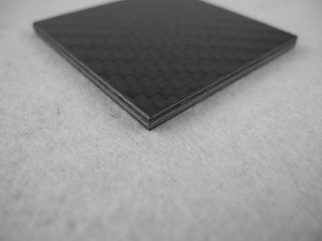 China Light weight PVC resin + Carbon Fiber Composite Plate , Carbon Fiber Panels supplier