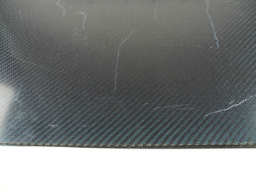China Isotropic Layup Carbon Fiber Plate / Sheeting , 400 * 500mm 1.5mm supplier