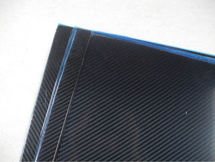 China Multi-axle vehicle Sheets Of Carbon Fiber 3K Twill Glossy 2.5mm thickness supplier