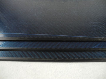 China Auto / Hardware use Full Carbon Twill Matte Carbon Fiber Plate 1.2mm Thickness with 3K material supplier