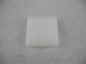China Sheet metal processing machinery accessories special white Nylon plate supplier