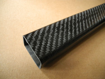 Light weight Rectangular Carbon Fiber Tube