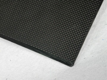 China 100mm * 200 mm plain 2mm carbon fiber sheet , twill ultra carbon fiber board supplier