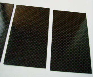 China High Performance Tolerance ±0.1 Carbon Fiber Plate laminated sheet of 3k / Twill supplier