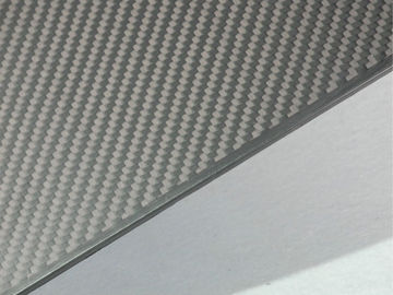 China Light Weight Full Carbon Fiber Plate with Twill Weave Matte surface supplier