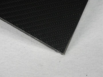 China Black Twill Matte Carbon Fiber Panels use for surfboard / boat centerboard supplier