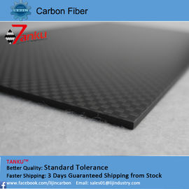 China Flexible tripod carbon fiber plates plain weave style with precise supplier