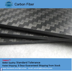China Black Full Carbon Fiber Board good heat resistance customized supplier