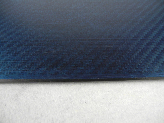 Strong Carbon Fiber Plate Twill Weave , thickness 1mm Sheets Of Carbon Fiber