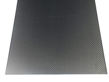 China High Tensile Strength 1mm Carbon Fiber Sheet 3K Corrosion Resistance distributor
