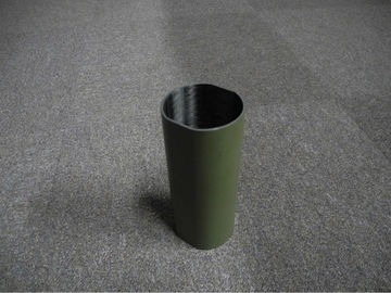 China Carbon fiber tube Real Filament Wound Military Green Painting Full Carbon distributor
