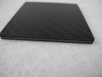 China Light weight PVC resin + Carbon Fiber Composite Plate , Carbon Fiber Panels distributor