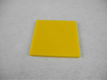 China Heat resistance 180 ℃ Nylon Parts , Nylon sheet / Plate bar insulation Yellow distributor