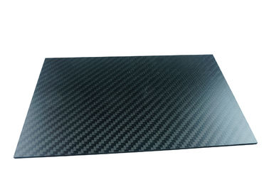 China Light Weight Full Carbon Fiber Plate with Twill Weave Matte surface distributor